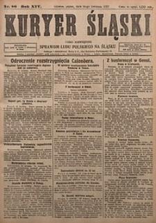 Kuryer Śląski, 1922, R. 14 [właśc. 16], nr86