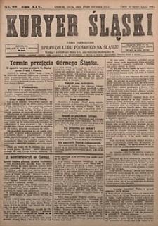 Kuryer Śląski, 1922, R. 14 [właśc. 16], nr88