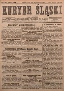 Kuryer Śląski, 1922, R. 14 [właśc. 16], nr91