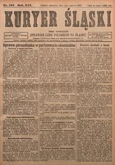 Kuryer Śląski, 1922, R. 14 [właśc. 16], nr124