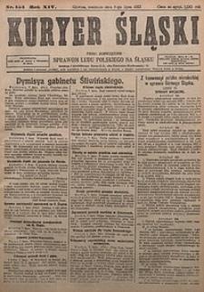 Kuryer Śląski, 1922, R. 14 [właśc. 16], nr154