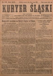 Kuryer Śląski, 1922, R. 14 [właśc. 16], nr166