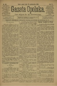 Gazeta Opolska, 1895, R. 6, nr 86