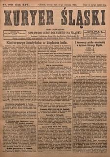 Kuryer Śląski, 1922, R. 14 [właśc. 16], nr183