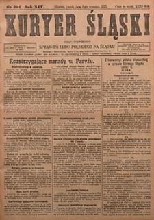 Kuryer Śląski, 1922, R. 14 [właśc. 16], nr201