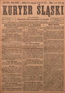 Kuryer Śląski, 1922, R. 14 [właśc. 16], nr232