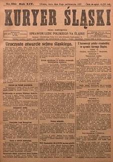 Kuryer Śląski, 1922, R. 14 [właśc. 16], nr235