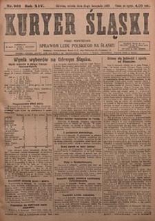 Kuryer Śląski, 1922, R. 14 [właśc. 16], nr261