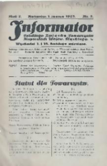 Informator Polskiego Związku Towarzystw Kupieckich Wojew. Śląskiego, 1925, R. 2, nr 5
