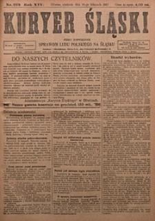 Kuryer Śląski, 1922, R. 14 [właśc. 16], nr273
