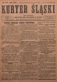 Kuryer Śląski, 1922, R. 14 [właśc. 16], nr287