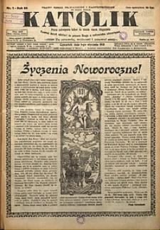 Katolik, 1931, R. 64, nr1