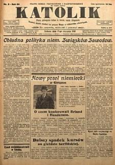 Katolik, 1931, R. 64, nr8