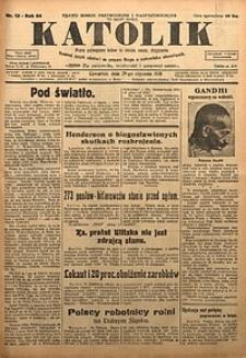 Katolik, 1931, R. 64, nr13