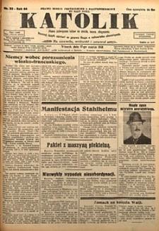 Katolik, 1931, R. 64, nr33