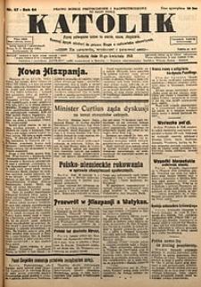 Katolik, 1931, R. 64, nr47