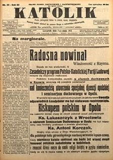 Katolik, 1931, R. 64, nr55
