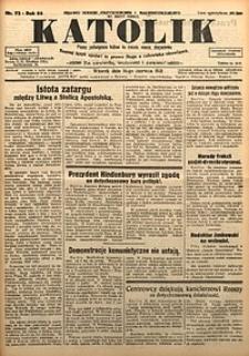 Katolik, 1931, R. 64, nr72