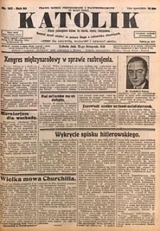 Katolik, 1931, R. 64, nr143