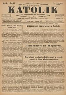 Katolik, 1927, R. 60, nr2