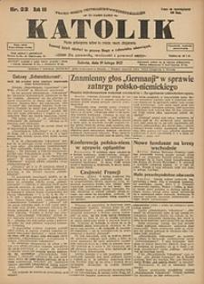 Katolik, 1927, R. 60, nr22