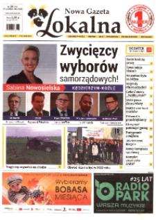 Nowa Gazeta Lokalna : Kędzierzyn-Koźle, Bierawa, Cisek [...] 2018, nr 39 (978).
