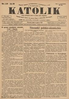 Katolik, 1927, R. 60, nr29
