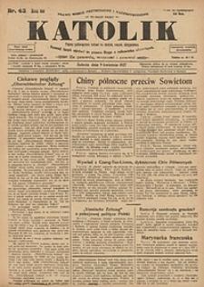 Katolik, 1927, R. 60, nr43