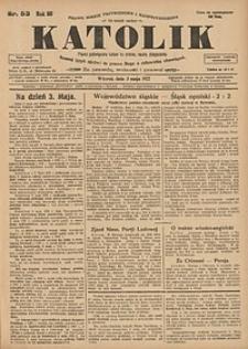 Katolik, 1927, R. 60, nr53