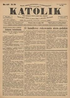 Katolik, 1927, R. 60, nr62