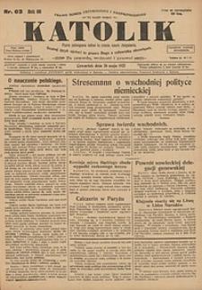 Katolik, 1927, R. 60, nr63