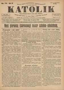 Katolik, 1927, R. 60, nr74