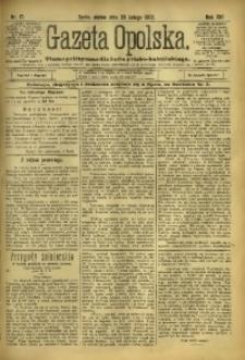 Gazeta Opolska, 1902, R. 13, nr 17