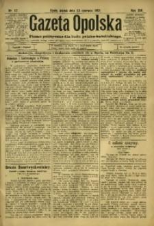 Gazeta Opolska, 1902, R. 13, nr 47