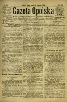 Gazeta Opolska, 1902, R. 13, nr 64