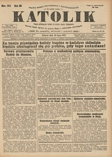 Katolik, 1927, R. 60, nr91
