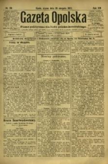 Gazeta Opolska, 1902, R. 13, nr 69