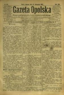 Gazeta Opolska, 1902, R. 13, nr 92