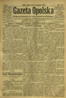 Gazeta Opolska, 1903, R. 14, nr 8