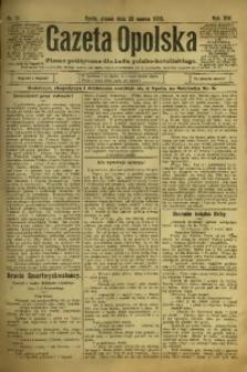 Gazeta Opolska, 1903, R. 14, nr 21