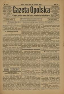 Gazeta Opolska, 1904, R. 15, nr 32