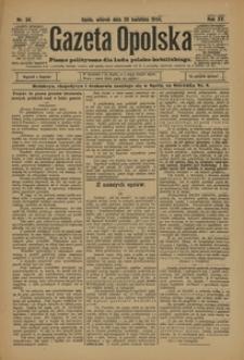 Gazeta Opolska, 1904, R. 15, nr 34