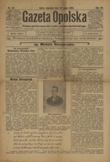 Gazeta Opolska, 1904, R. 15, nr 42