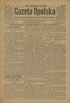 Gazeta Opolska, 1904, R. 15, nr 43