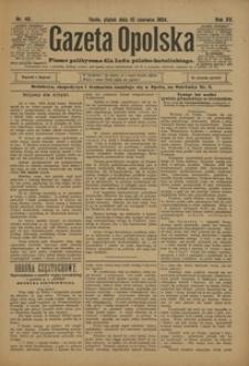 Gazeta Opolska, 1904, R. 15, nr 48