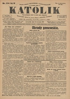 Katolik, 1927, R. 60, nr114