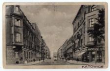 Kattowitz O.-S. Bismarckstrasse. Katowice