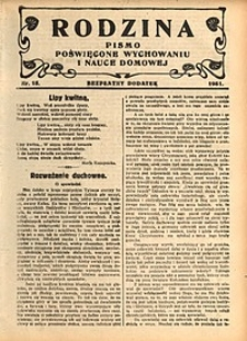 Rodzina, 1931, nr15