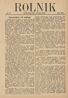 Rolnik, 1927, [R. 25], nr8