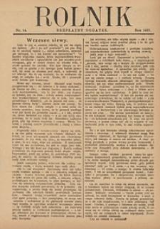 Rolnik, 1927, [R. 25], nr14